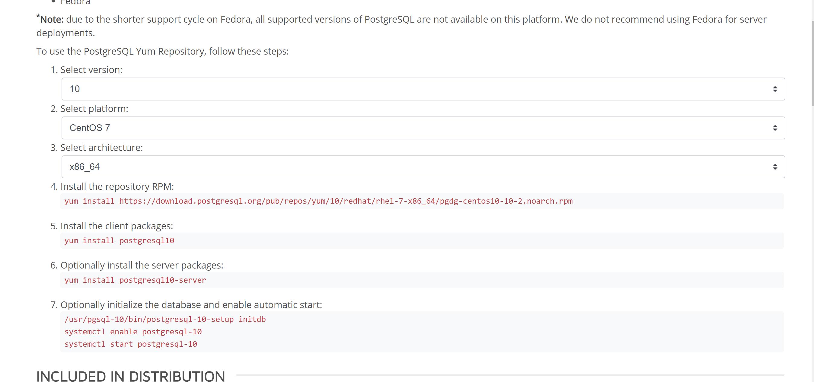 How To Install PostgreSQL On centos/redhat - Database Tutorials